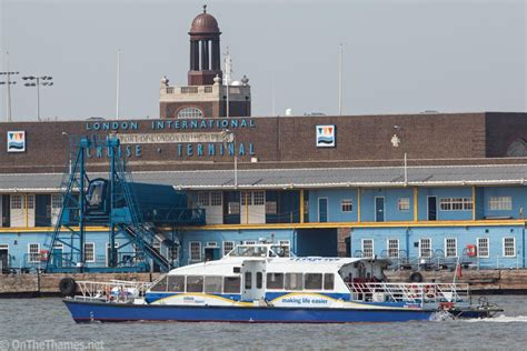 thames clipper to gravesend thames clippers to run trials of commuter service from