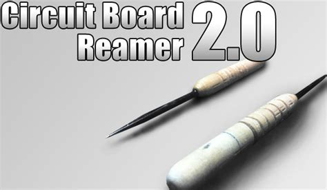 Bor Reamer circuit board reamer 2 0 backroom workdesk