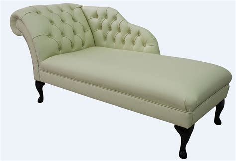 chaise chesterfield chesterfield leather chaise lounge day bed designersofas4u