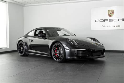 porsche 911 gts black 2017 porsche 911 gts for sale in colorado springs