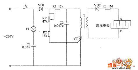 electronic pests killing l circuit diagram 6