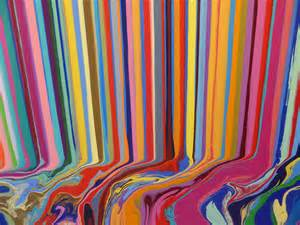 Colorfall quot by ian davenport at paul kasmin gallery according 2 g