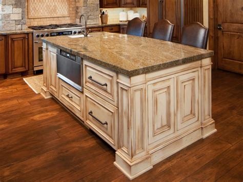 kitchen island from cabinets antique kitchen islands hgtv