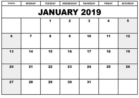 january 2019 calendar january 2019 calendar january 2019 calendar printable