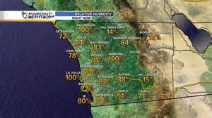 weather map california today warm weather and some windy conditions are expected across