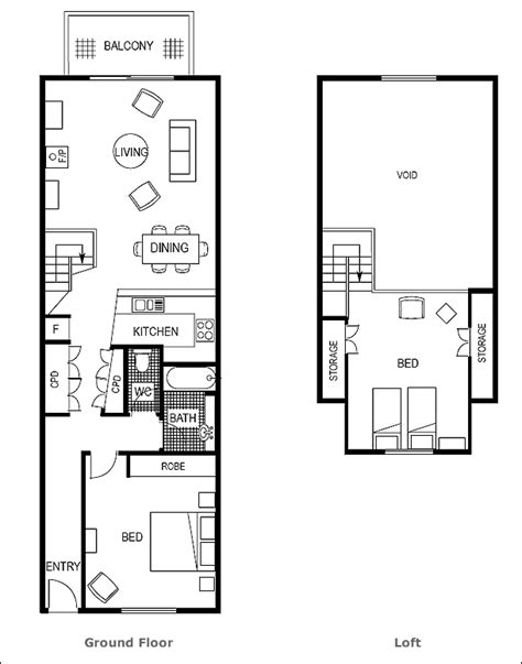 small loft apartment floor plan floor plan apartment 11 loft pinterest