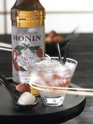 Monin Lychee Syrup 700ml worldwide wines waterford cocktails syrups monin