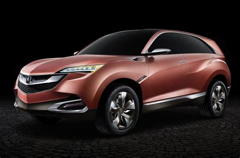 acura concept suv x compact suv headed for