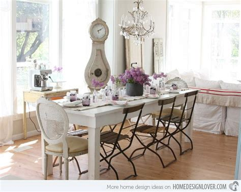 beautiful shabby chic dining room decoration ideas listing