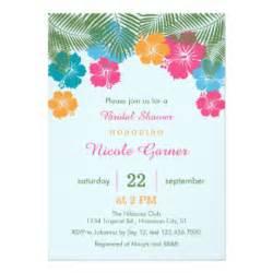 hawaiian invitations announcements zazzle