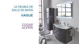 meuble de salle de bains vague cooke lewis 690663