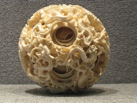 Carving Value intricately carved ivory puzzle at the chen family temple could you carve this flickr