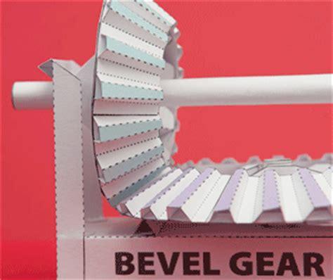 Gear Papercraft - bevel gear papercraft papercraft paradise papercrafts