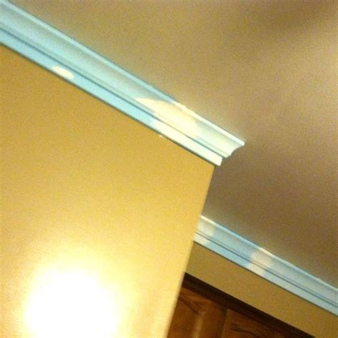 foam crown moulding it s so easy completed pictures