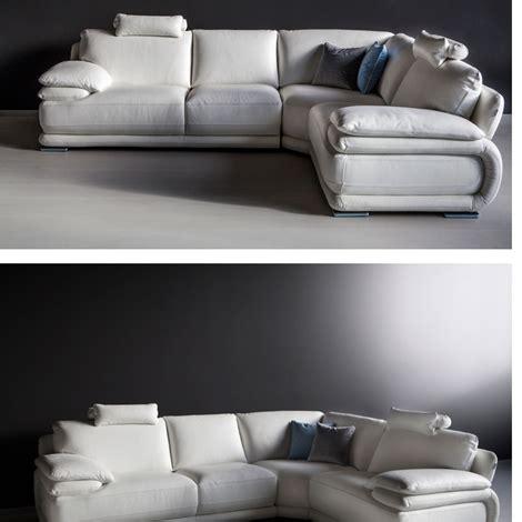 divano angolare in pelle pieno fiore alta qualita divani