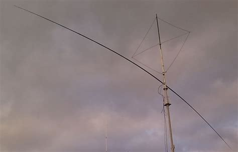 40 meter to a shortened 40 meter rotary dipole pa1m radio