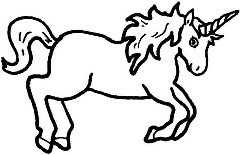 Unicorn Outline by Unicorn Outline Clipart Best