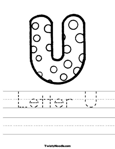 worksheet alphabet u worksheets noodles and letters on pinterest