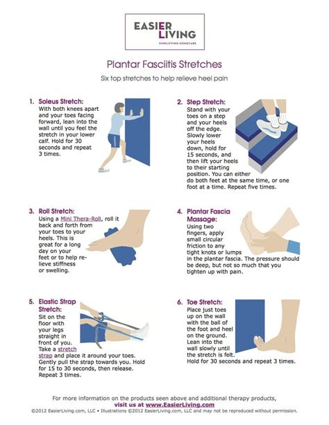 plantar fasciitis stretches fitness and health pinterest