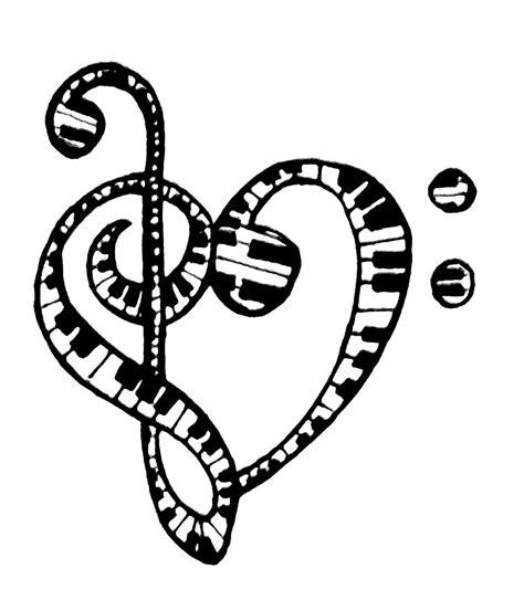 treble clef heart tattoo designs free treble clef designs free clip