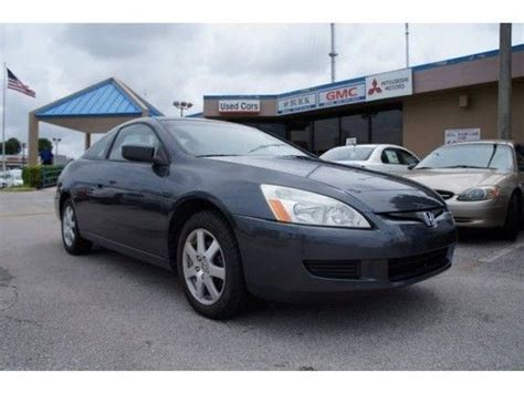 purchase used 05 honda accord ex v 6 coupe 2dr price to