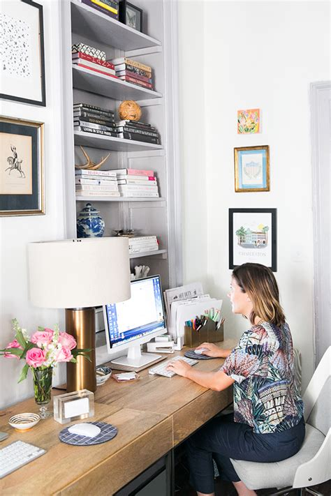 Small Home Office Square Footage How To Design A Charming Office In 200 Square