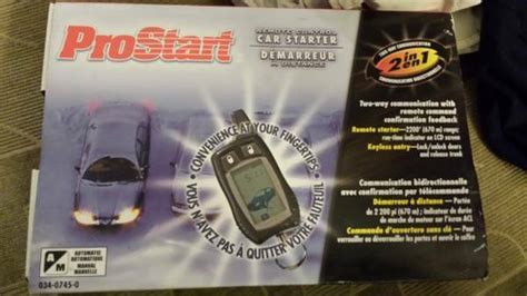 install prostart remote car starter  canadian tire   parts accessories