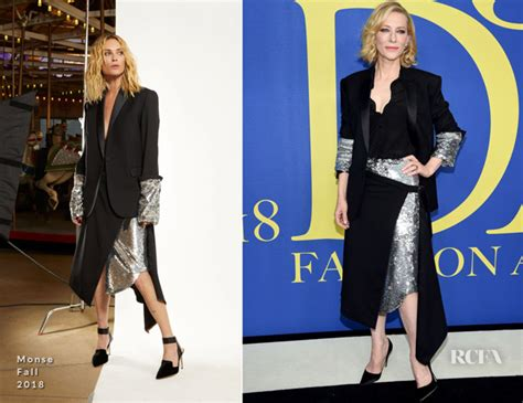 Catwalk To Carpet Cate Blanchett Carpet Style Awards by Cate Blanchett In Monse 2018 Cfda Fashion Awards