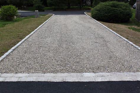 driveway apron crushed driveway with belgium block apron in asphalt