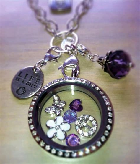 Origami Necklace Locket - origami owl living lockets origami owl