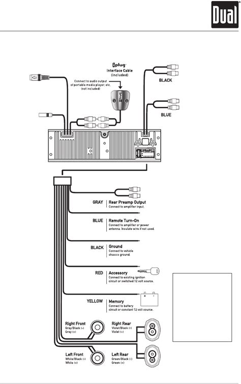 dual xd1228 wiring harness 26 wiring diagram images