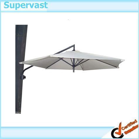 wall mounted patio umbrella folding wall mounted 9ft patio umbrella buy outdoor
