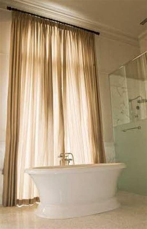 Curtain Ideas For Bathroom by 1000 Ideas About Bathroom Window Curtains On