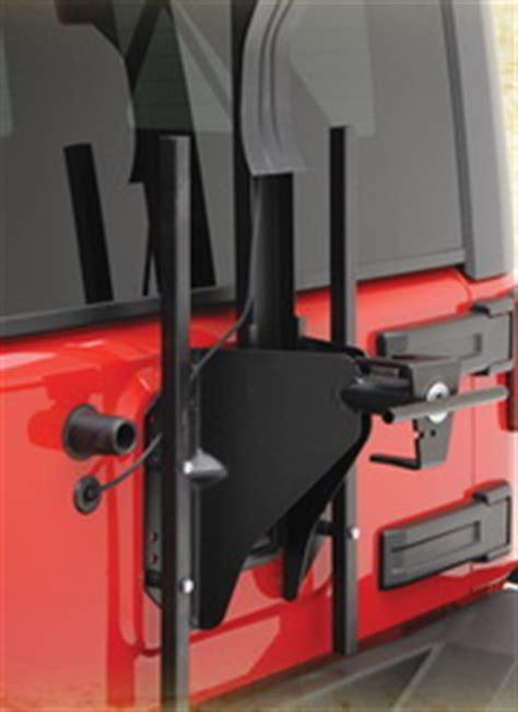 Jeep Jk Spare Tire Carrier New Smittybilt Src Oversized Tire Carrier Mount 07 14