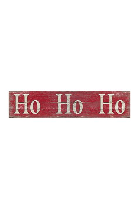 Nordstrom Rack Sign In by Sixtrees Ho Ho Ho Sign Large Nordstrom Rack