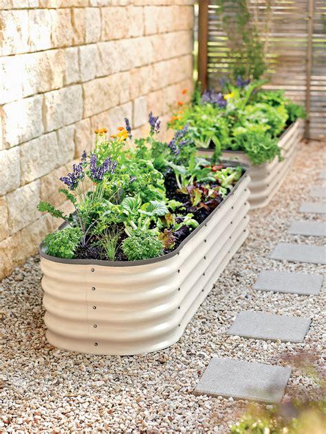 galvanized raised garden bed 25 diy raised garden beds corrugated metal wood galvanized