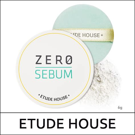 Sale Etude House Zero Sebum Drying Powder etude house big sale 35 zero sebum drying powder 6g