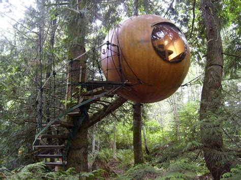tree house hotel world s most awesome treehouse hotels travefy