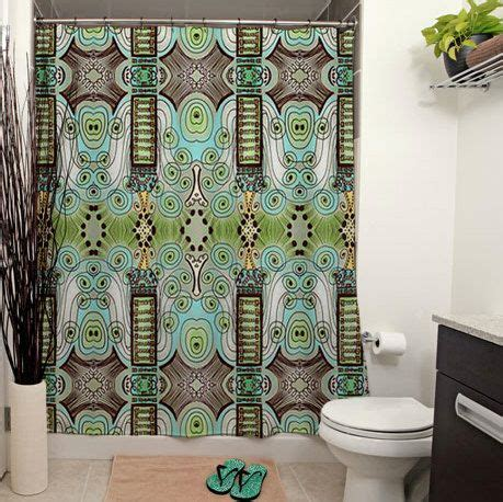 deco shower curtain belle epoque pattern printed shower curtain art deco