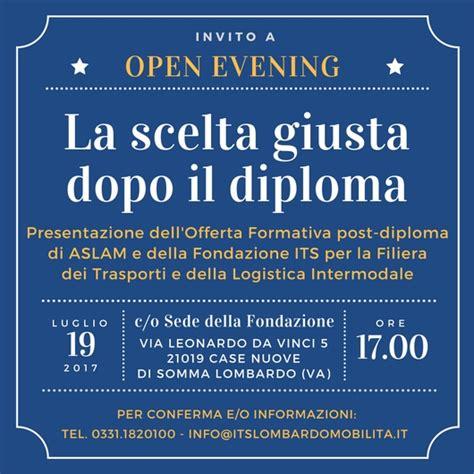 siete invitati all open evening della fondazione itslombardo