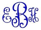 arabesque pattern font monogram font i love the fishtail letters with the swirl