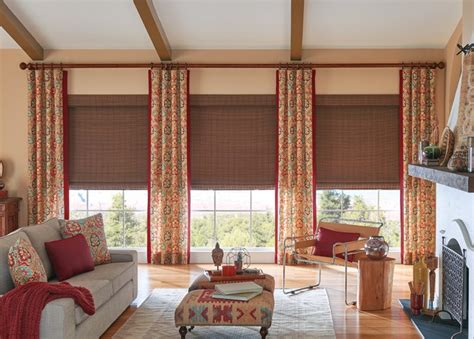 Living Room Window Curtains by Living Room Curtains Family Room Window Treatments