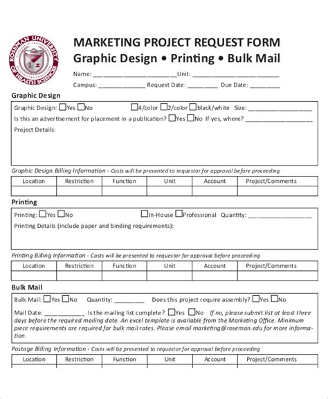 50 Sle Request Forms Sle Templates Marketing Form Template