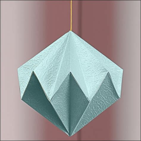 Origami Diamonds - origami by bluetf on deviantart