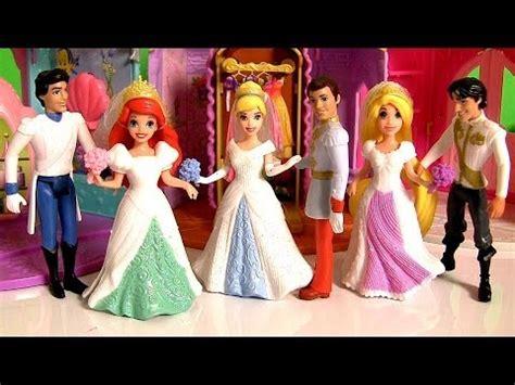 Wedding Magic Clip Dolls by Magiclip Fairytale Wedding Dolls Disney Princess Rapunzel