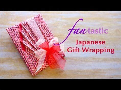 japanese gift ideas fan tastic japanese gift wrapping youtube