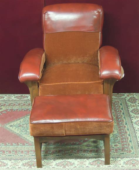 Football Chair And Ottoman Bowl Football Chair And Ottoman Charles Haynes For Sale Antiques Classifieds