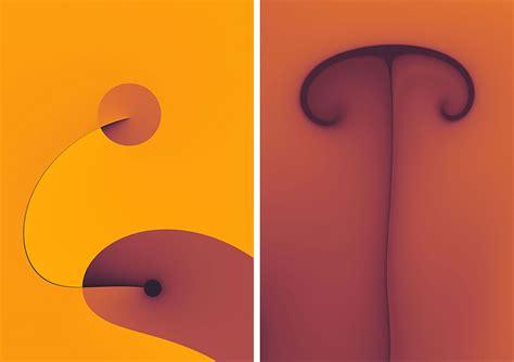modern minimalist artist mesmerizing minimalist fractals webdesigner depot