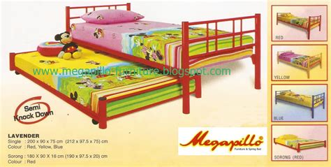 Ranjang Besi No 2 megapillo furniture bed shop ranjang besi