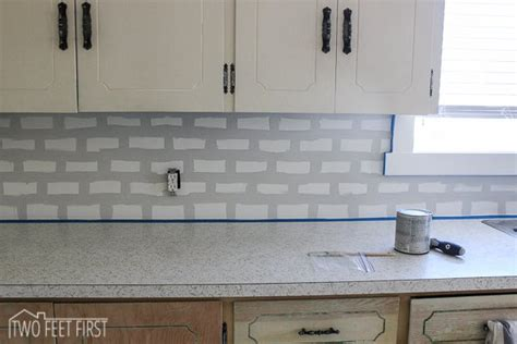 Cheap Kitchen Backsplash Tile Diy Cheap Subway Tile Backsplash Hometalk